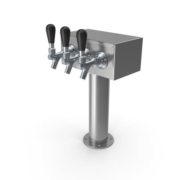 Triple Faucet Beer Tower
