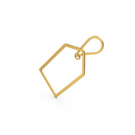 Symbol Label Gold