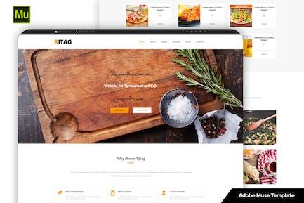 Ritag - Адаптивный Шаблон для продуктов питания и ресторанов