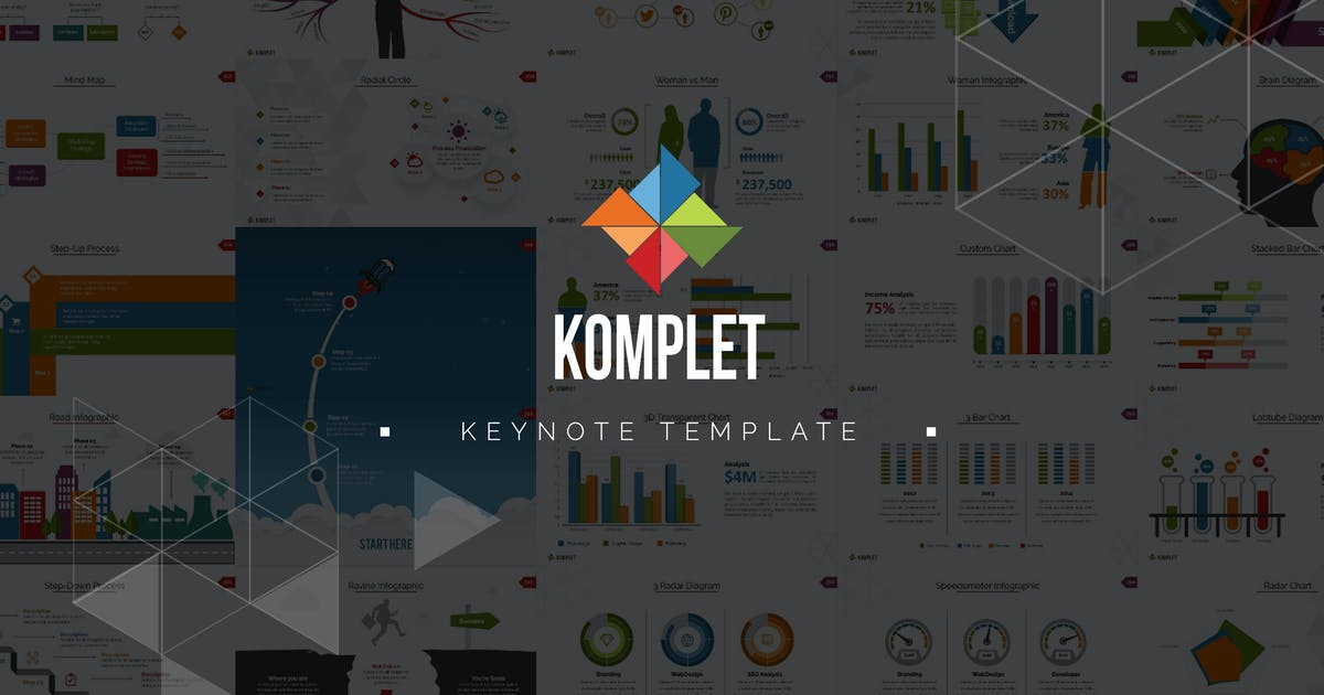 Komplet Keynote Template by Unknow