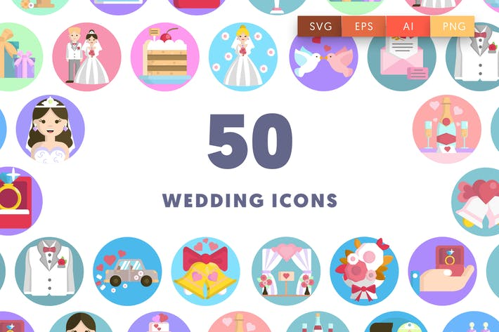 Thumbnail for Wedding Icons
