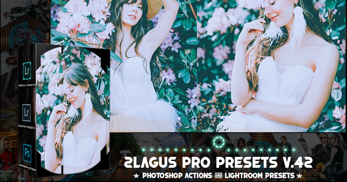 Download PRO Presets - V 42 - Photoshop & Lightroom by 2lagus