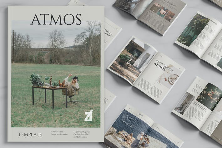 Atmos multi-purpose book