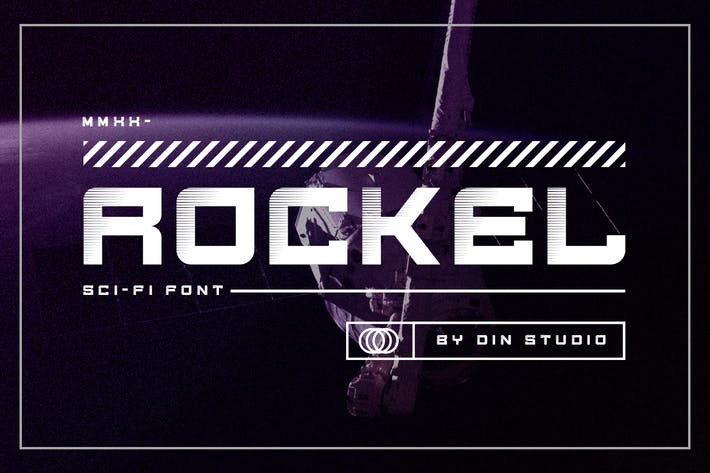 Thumbnail for Rockel - Display Font