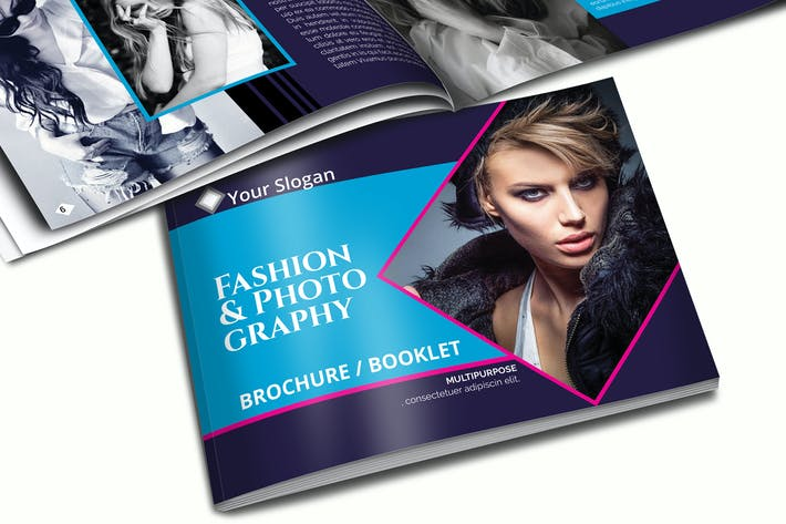 Thumbnail for A5 Fashion Brochure - Booklet Template Vol 2