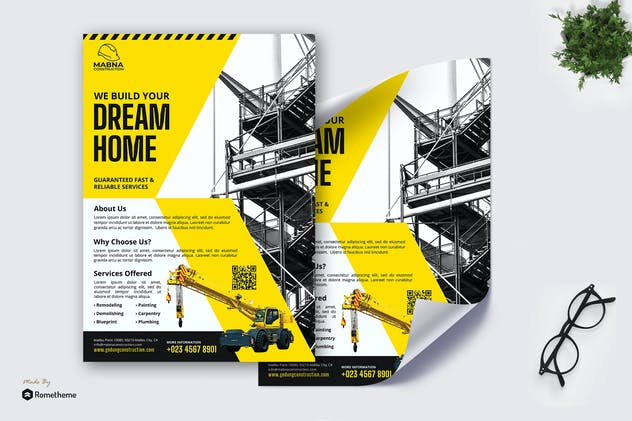 Mabna Construction - Poster RB