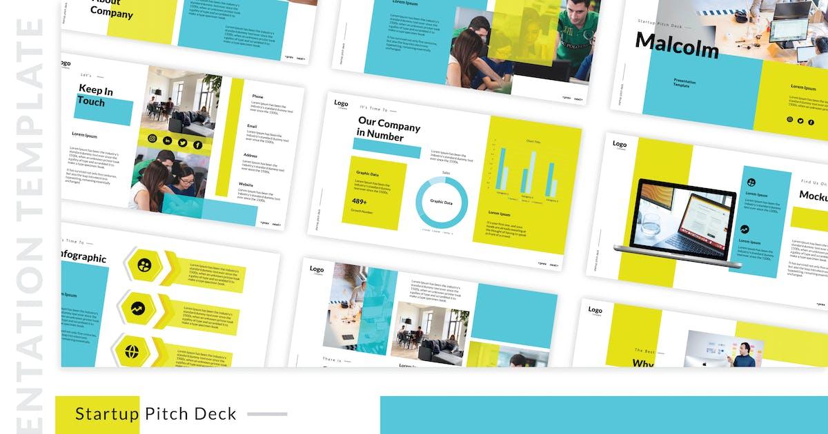 Download Startup Pitch Deck Keynote Templates by deTheme