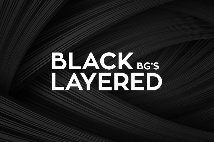 Thumbnail for Black Layered Backgrounds