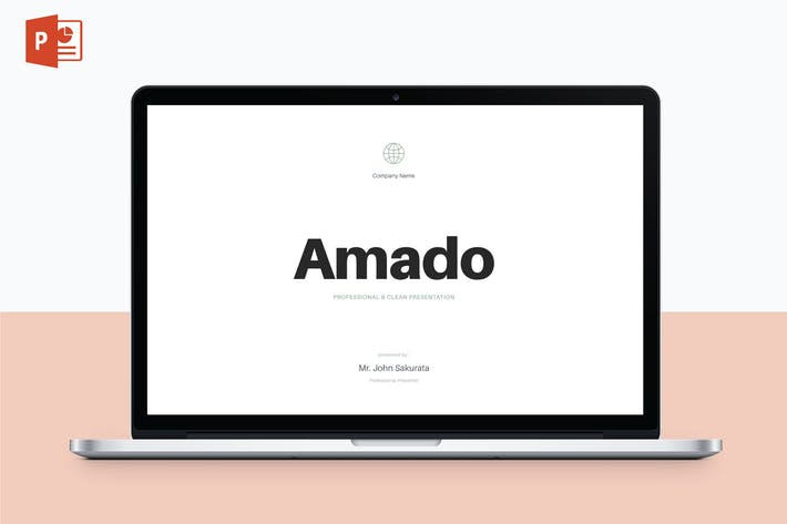 Thumbnail for AMADO - Multipurpose PowerPoint Template V34
