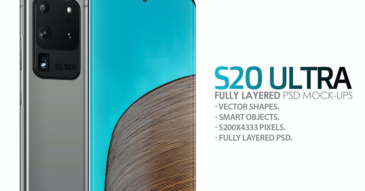 Download S20 Ultra Layered PSD Mockups by Abdelrahman_El-masry