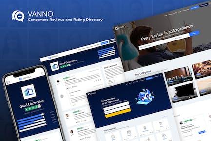 Vanno - Verbrauchermeinungen und Bewertungsverzeichnis