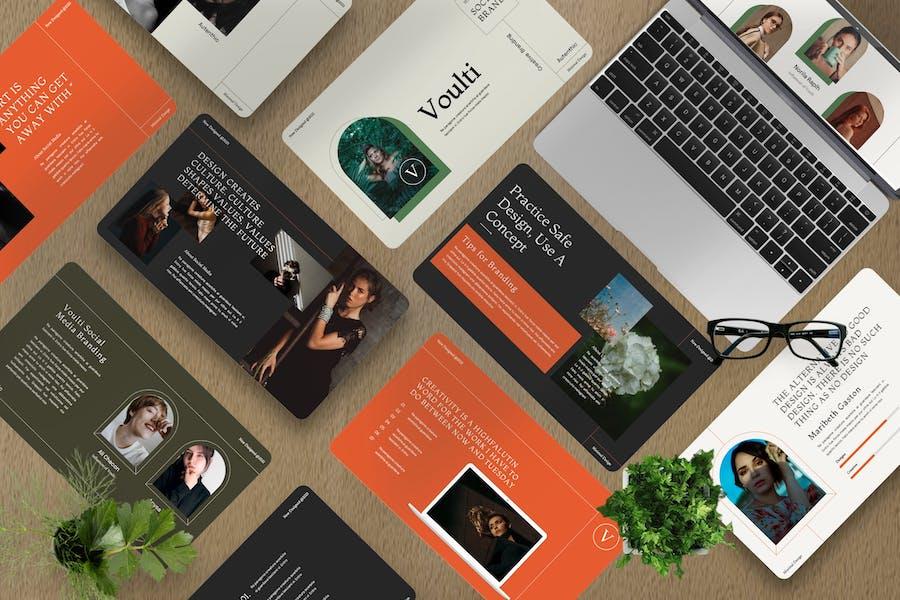 Voulti - Brand Social Media Keynote Template