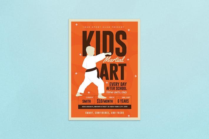 Thumbnail for Arts martiaux pour enfants