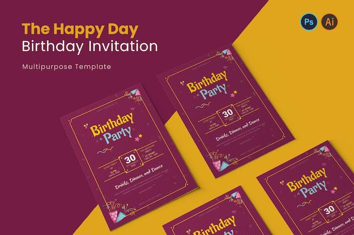 Thumbnail for Invitation d'anniversaire