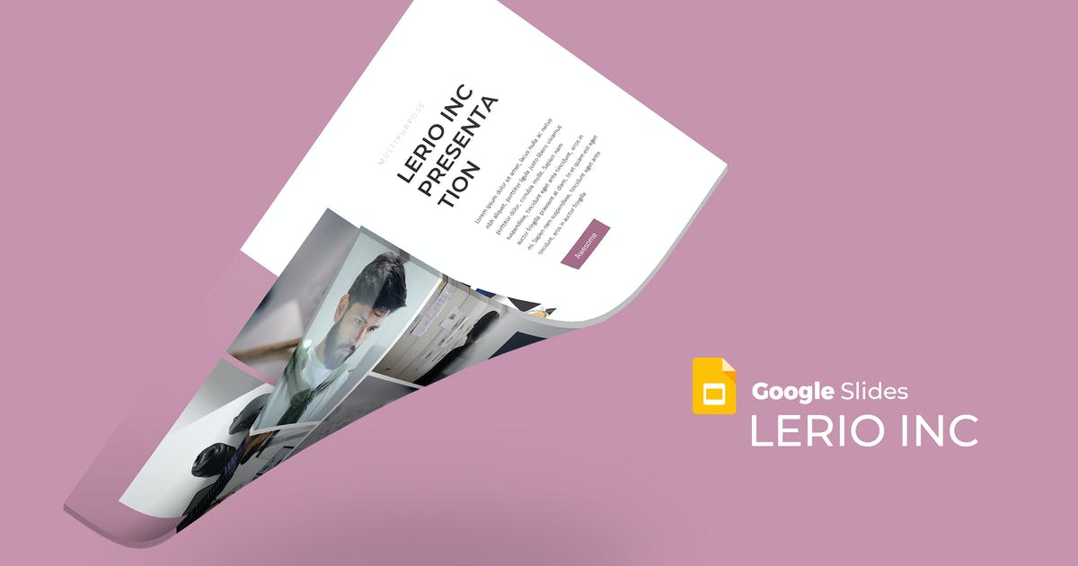 Download Lerio - Google Slides Template by aqrstudio