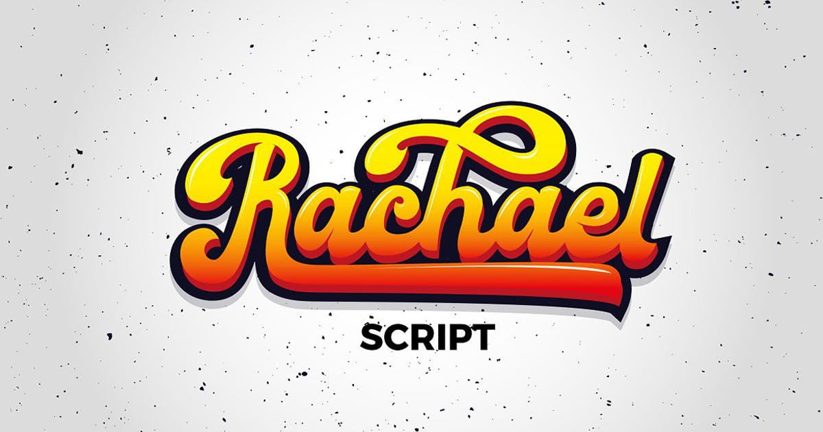 Download Rachael Script by DebutStudio