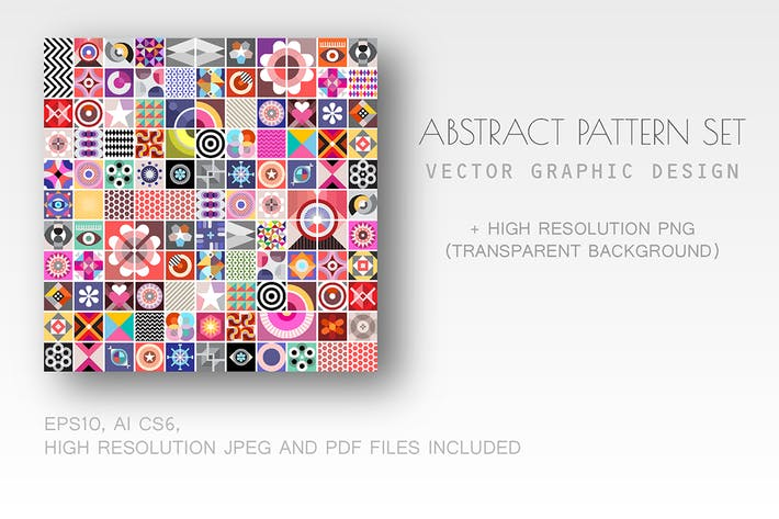 Thumbnail for Abstract Geometric Pattern set