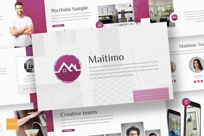Thumbnail for Maitimo - Real Estate Google Slides Template