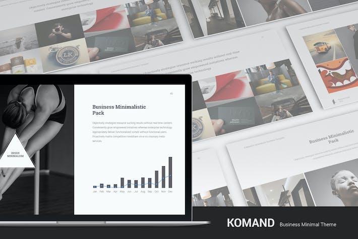 Минимальный Шаблон Komand