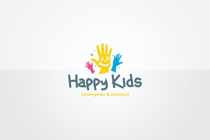 Thumbnail for Kindergarten Logo Template
