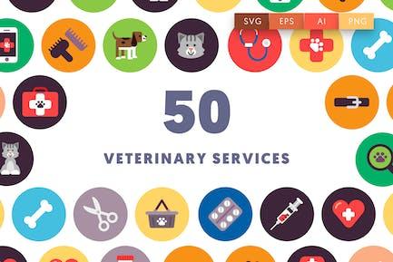 50 Veterinary Icons