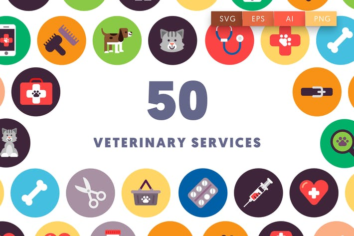Thumbnail for 50 Veterinary Icons