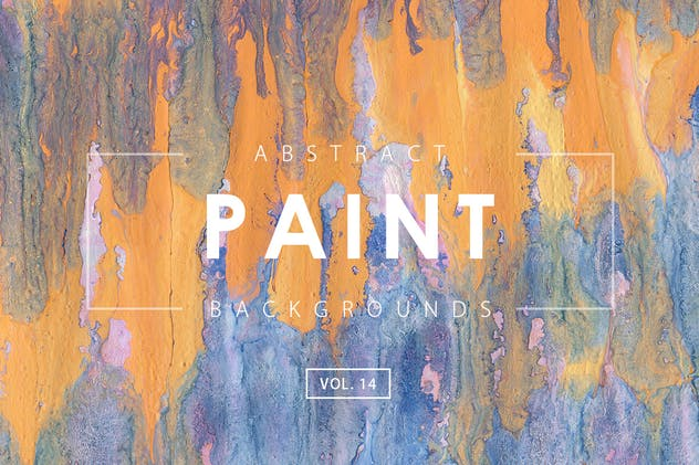 Abstract Paint Backgrounds Vol. 14