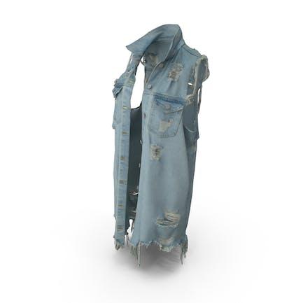 Womens Jean Vest