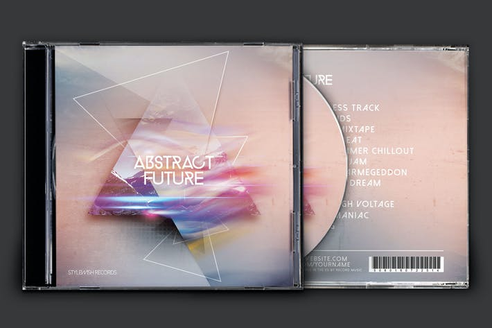Thumbnail for Abstract Future CD Cover Artwork