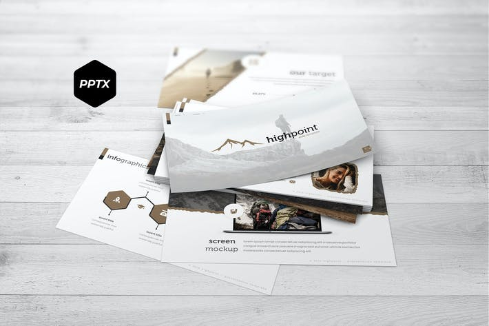 Cover Image For Highpoint - Powerpoint Template
