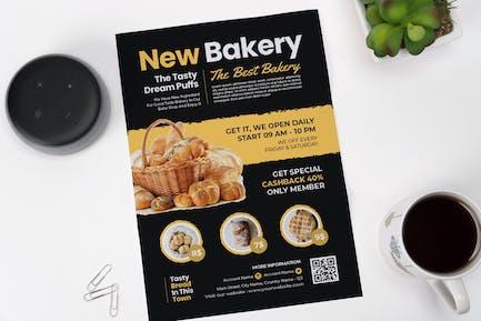 Tasty Bakery Flyer