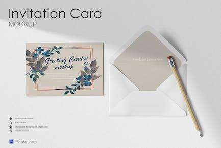Envelope Invitation Mock Up
