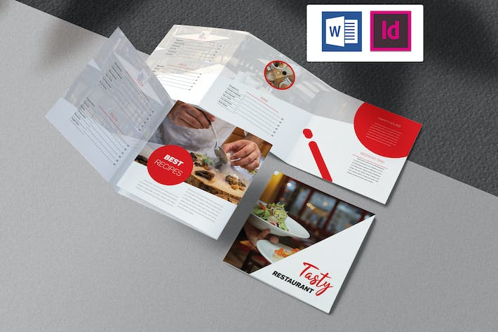 Thumbnail for Restaurant Brochure Indesign