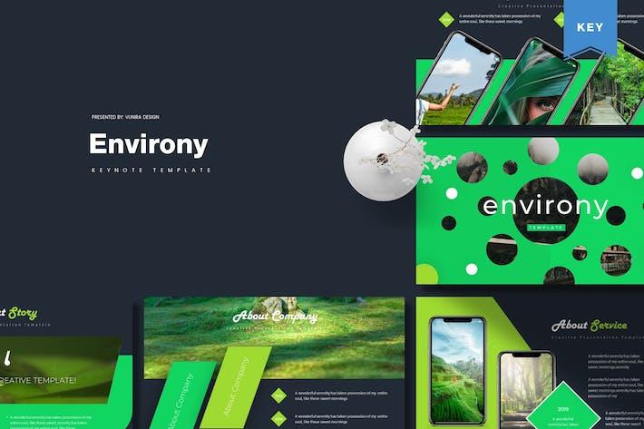 Thumbnail for Environy | Keynote Template
