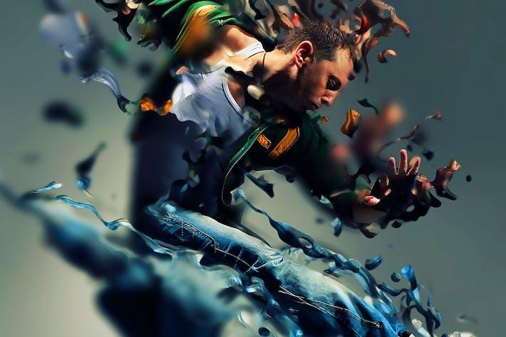 Thumbnail for Liquify Photoshop Acción