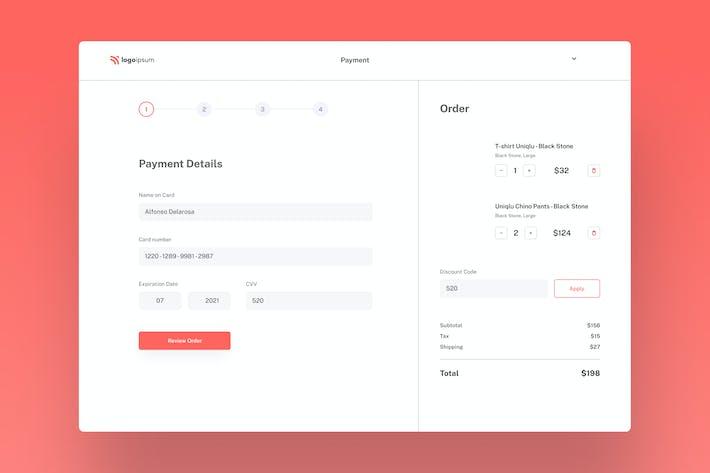 Web Checkout Design