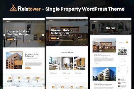 Relxtower - Single Property Elementor WordPress