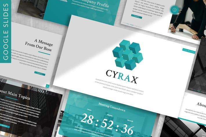 Thumbnail for Cyrax - Digital Creative Google Slide Template