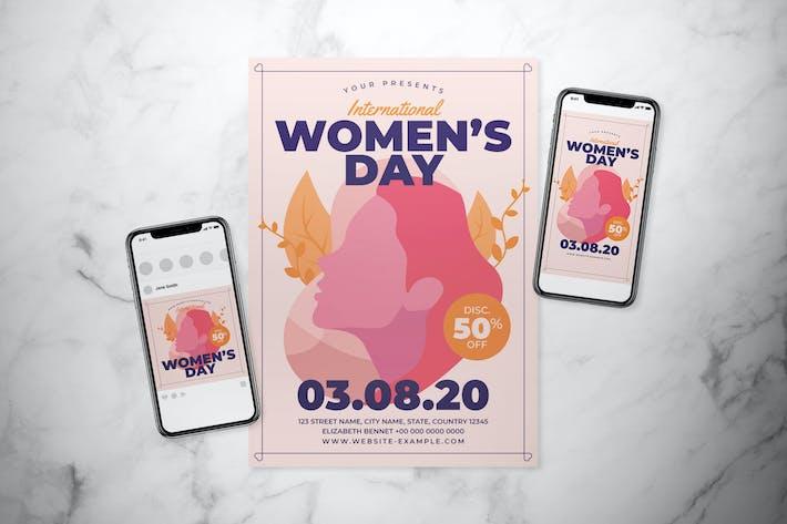 Thumbnail for International Women's Day Flyer Set