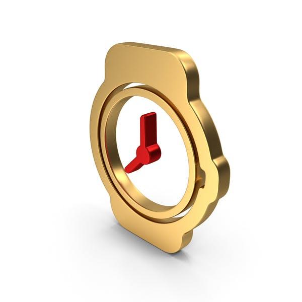 Watch Time Clock Logo Icon