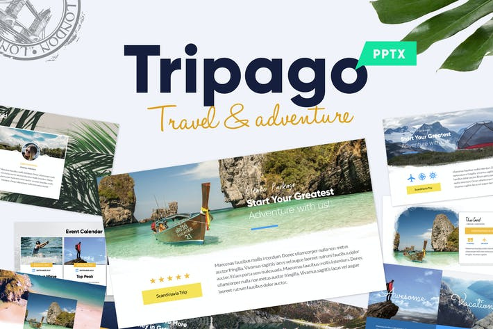 Tripago travel business powerpoint template by slidehack on envato cover image for tripago travel business powerpoint template toneelgroepblik Gallery