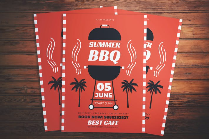 Thumbnail for Summer Barbecue Flyer