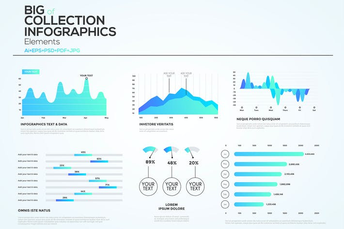 Thumbnail for Iinfographics Elements Design