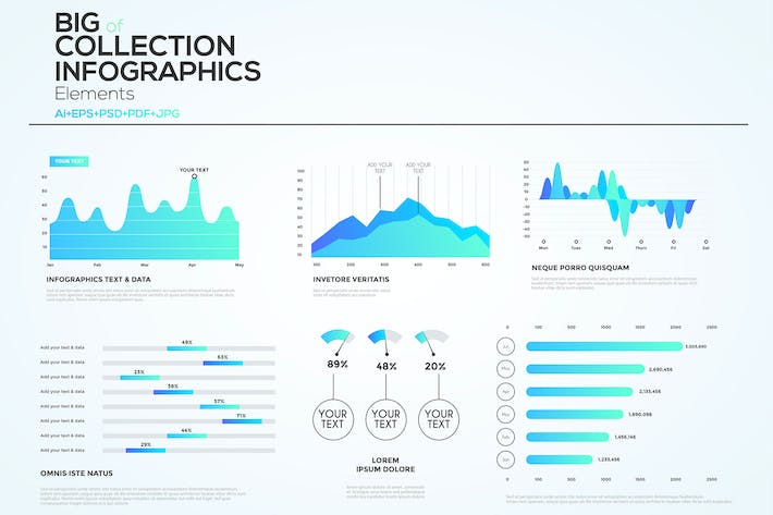 download 163 landscape infographics envato elements