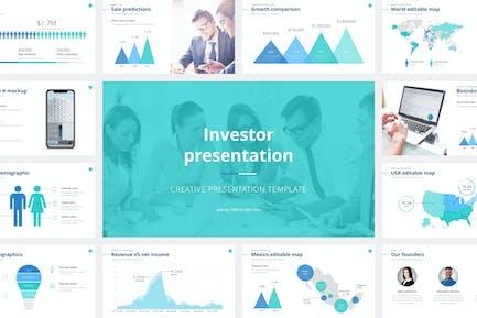 Investor Presentation Keynote Template