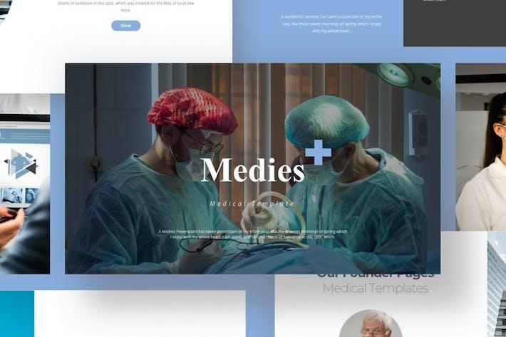 Thumbnail for Medies - Medical Keynote Presentation