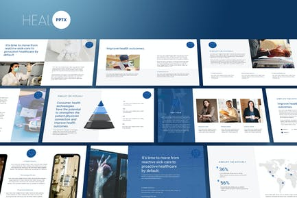 Heal - Medic Theme Powerpoint Template
