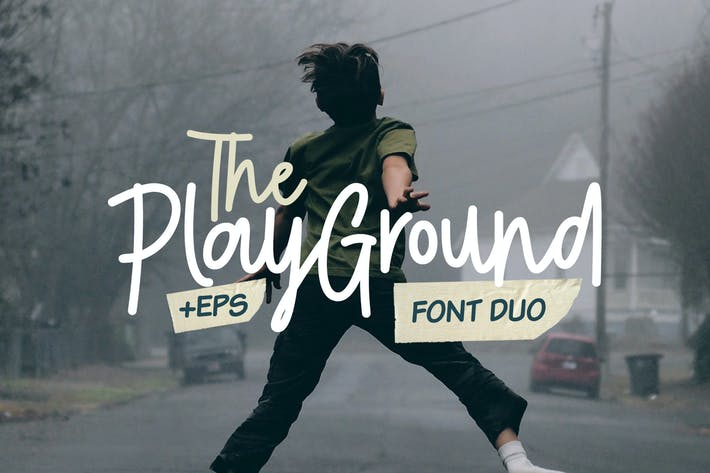 Cover Image For Play Ground Font