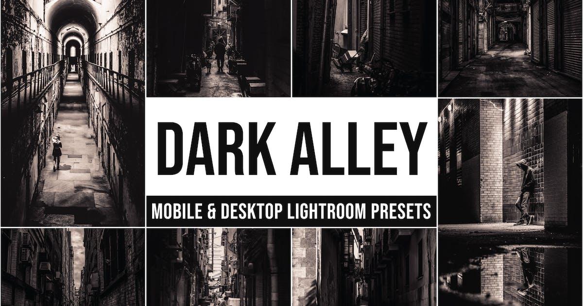 Download Dark Alley Mobile and Desktop Lightroom Presets by Laksmitagraphics