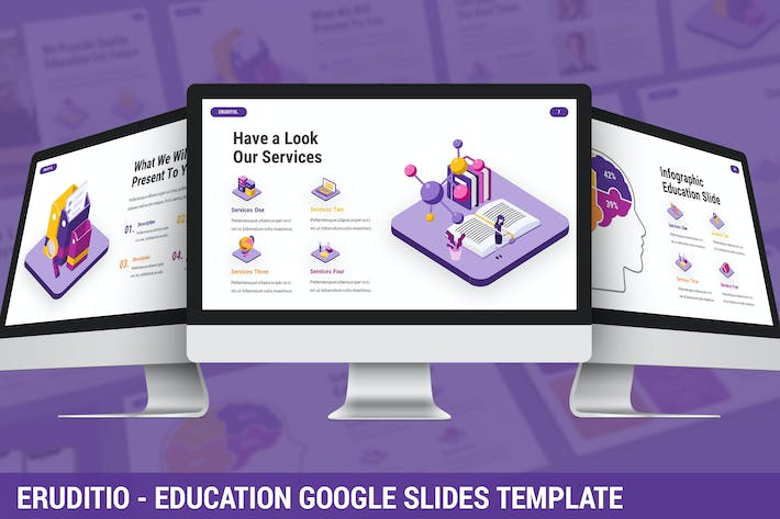 Thumbnail for Eruditio - Education Google Slides Template